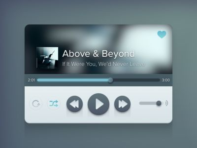 I just downloaded a free resource: Music Player, for Sketch app on http://www.sketchappsources.com.