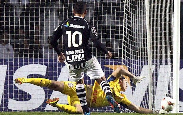 Goalkeeper Cassio made a very difficult defence against Vasco da Gama at Libertadores Cup (Photo: Agência AP)