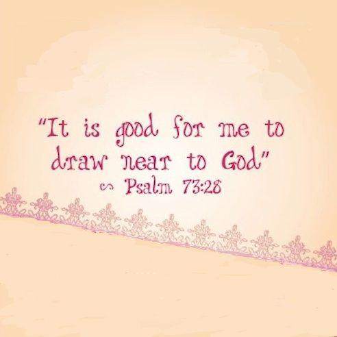 Psalm 73:28 More at http://ibibleverses.com