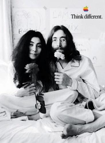 #celebrity_aspirations #apple 1997-1998 John Lennon, Yoko Ono