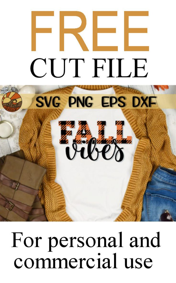 Download FREE Fall Vibes SVG - PNG - EPS - DXF. Sponsored. #freesvg ...