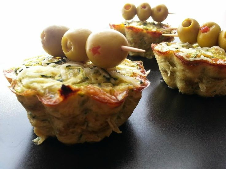 Découvrez notre recette de Flans de Courgettes à l'emmental