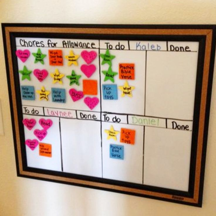 74 Best Chore Charts • Kids • DIY Ideas Images On