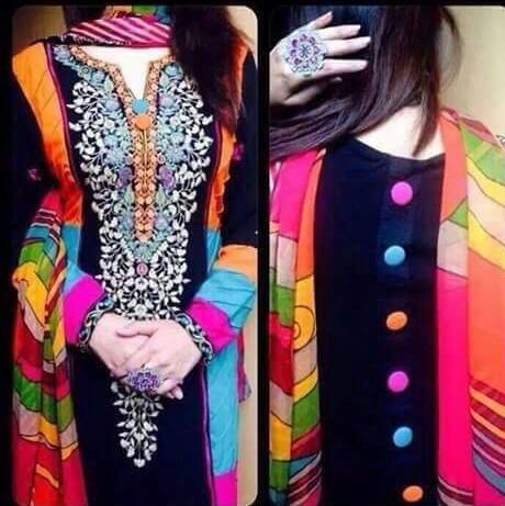 desinger trendy multicolor salwar suit for women any occation