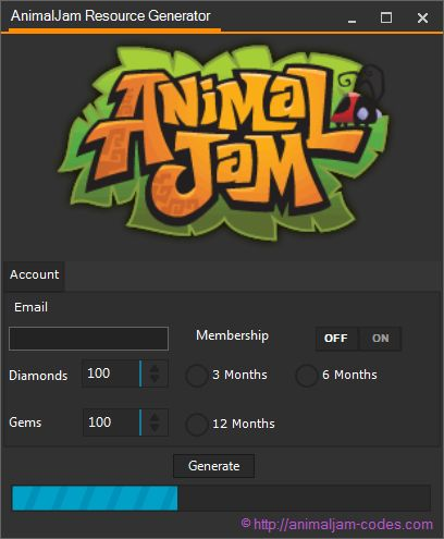 Animal jam hack online activation code