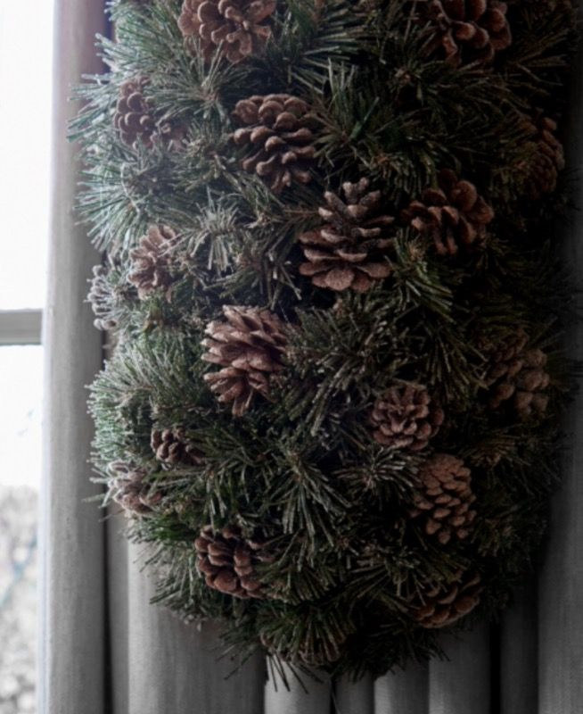 "This natural Christmas decoration is from our feature ""Spirits of Grace"""