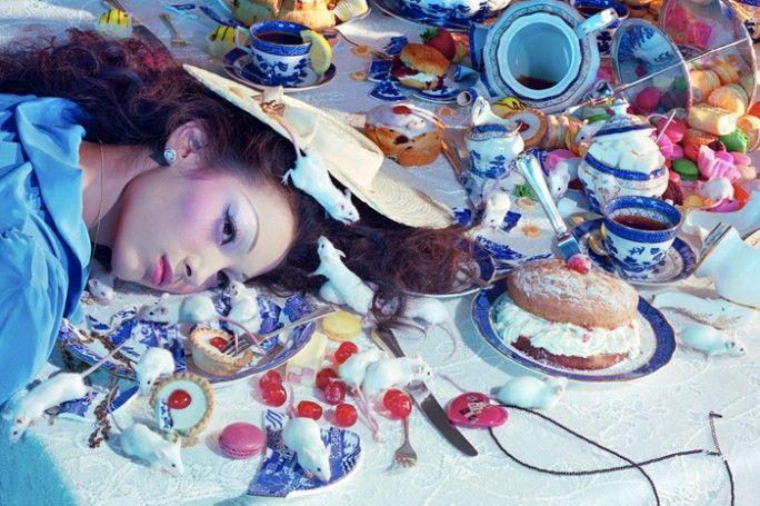 Running Against Alice, Miles Aldridge, Vogue China