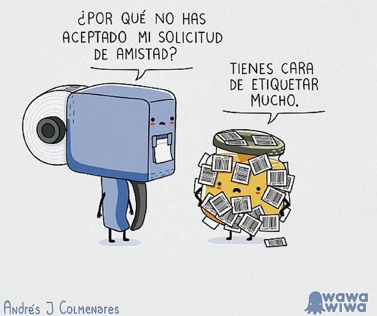 #FelizViernes #CSnet #Viñeta #Facebook