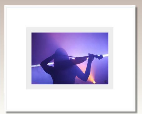 A lone #violinist there is #beauty in art #photo 122X97cm box #frame. #beautyineverymoment #BeautyinArt #design #blue #pray #light #song