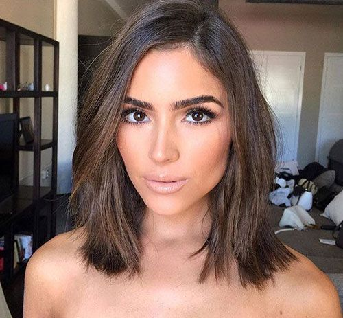 Shoulder Length Hairstyles For Dark Brown Hair : Top 25 best short sombre hair ideas on pinterest ombre