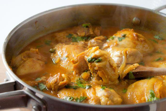 Healthy Coconut Curry Chicken Recipe!