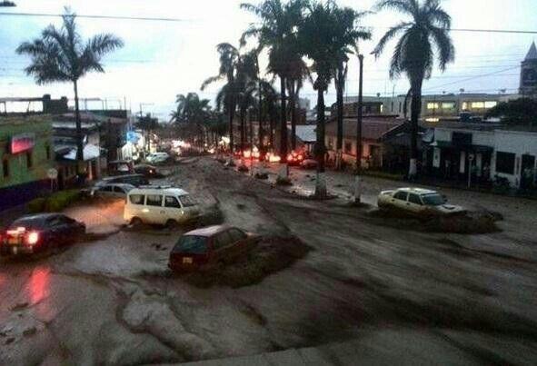 Imagén de #Fusagasuga hoy en alerta roja por avalancha y fuertes lluvias @dazacarlos via #Oigolafm @noticiasrcn y tanbien #UltimaHora de @NoticiasCaracol