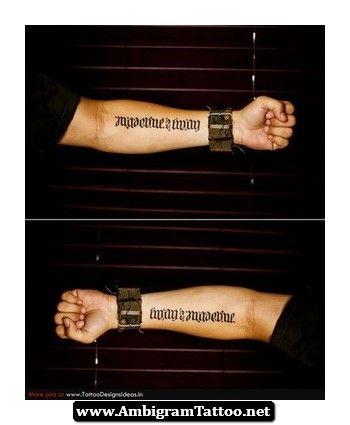 Free Ambigram Tattoos Generator 06 - http://ambigramtattoo.net/free-ambigram-tattoos-generator-06/