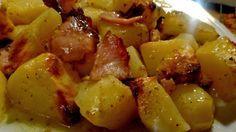 Πατάτες με μπέικον & μουστάρδα στο φούρνο !!! ~ ΜΑΓΕΙΡΙΚΗ ΚΑΙ ΣΥΝΤΑΓΕΣ