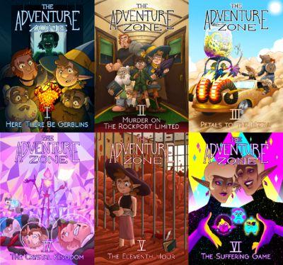 The Adventure Zone Mini Prints