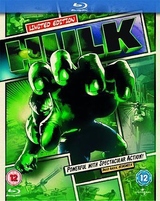 The hulk (2003): reel #heroes sleeve #[blu-ray] #[region free] - dvd  9cln,  View more on the LINK: 	http://www.zeppy.io/product/gb/2/391632250816/