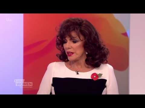 Joan Collins On Her Charity Auction | Loose Women
