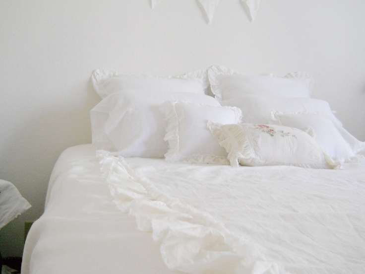 DUVET COVER Full & Queen sizes white linen by debbiesporch on Etsy