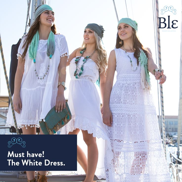 Out of the three, which one do you like the most? Discover all dresses here http://ble-shop.com #BleResortCollection #SummerFashion #Style #SummerStyle #Fashion #Beach #WhiteDress #Dress #SummerDress