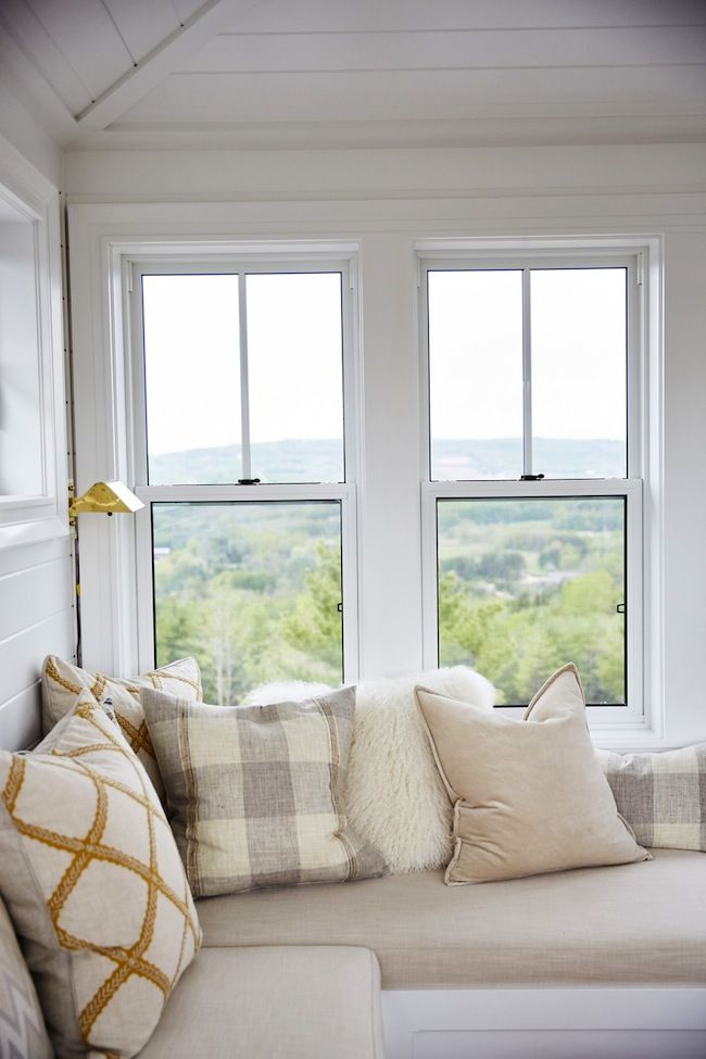 Tour this amazing home from HGTV's Sarah Off the Grid   lark & linen #windowseat