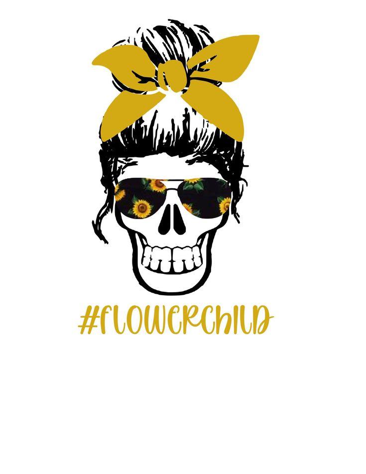 Digital download png printable sunflower flower child