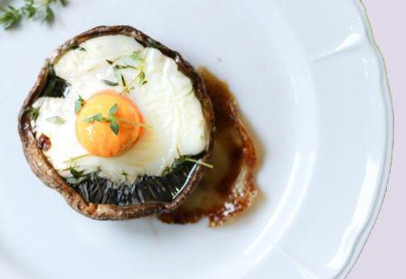 The Ultimate Egg Stuffed Portobellos