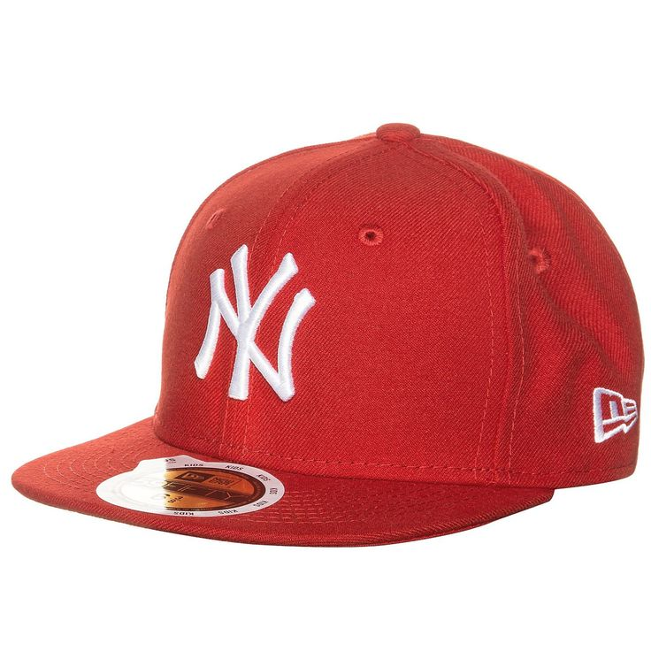 59FIFTY MLB Basic New York Yankees Cap Kinder    Diese klassische Basecap ist seit Jahren eine der angesagtesten in ihrem Segment und wird nicht nur von Baseball-Fans heftig umworben.     Ein aufgesticktes Teamlogo vorne bringt deine Zugehörigkeit zu den New York Yankees zum Ausdruck. Die Cap ist hinten geschlossen und präsentiert sich in verschiedenen Größen, damit auch für jede Kopfform etwas...