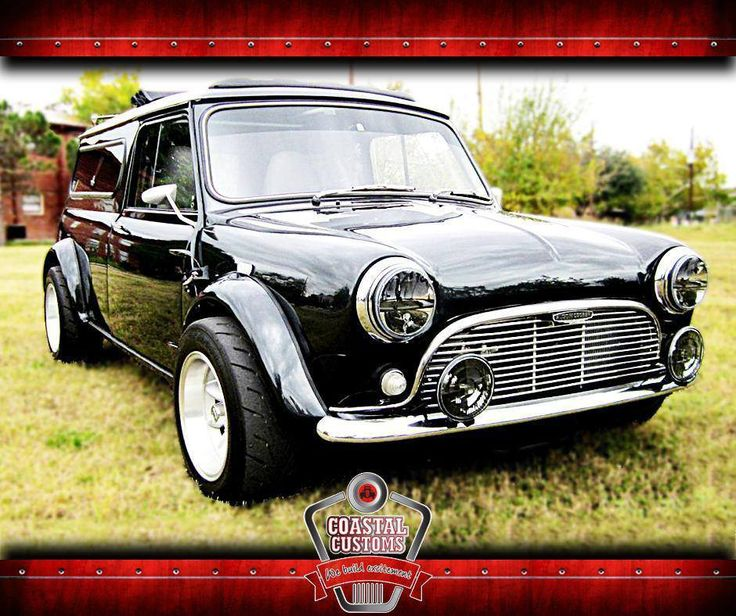 The classic #Mini is a lovable car. Make it your own by giving it an artistic touch with our awesome team at #CoastalCustoms. #CustomCars