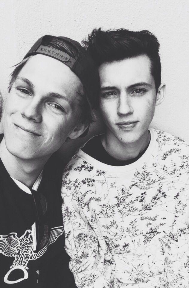 Caspar Lee and Troye Sivan