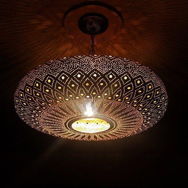 lampen mit licht nach oben marokko
