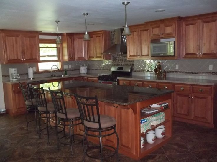 17 best ideas about split level kitchen on pinterest for Split level home kitchen ideas