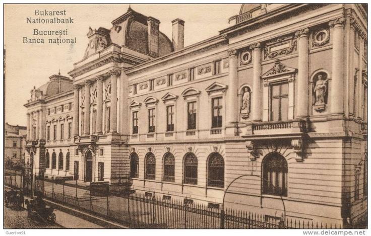 Bucuresti - Banca Nationala - interbelica