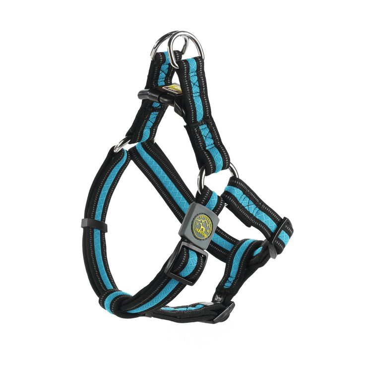 Hunter Hundegeschirr Maui Vario Quick, M, blau, 50-72 cm: Amazon.de: Haustier