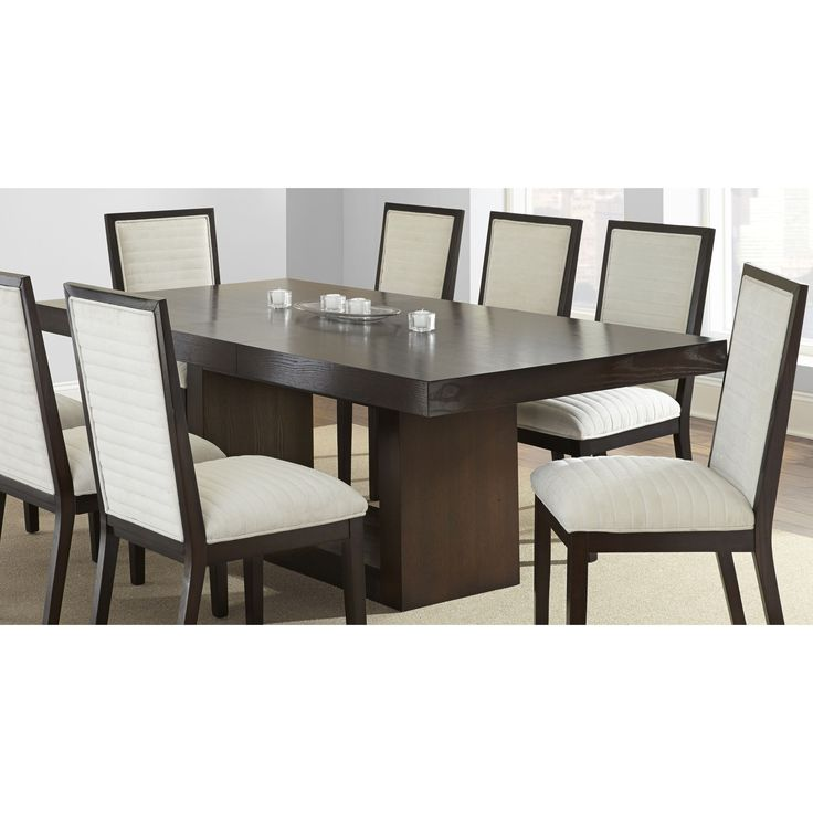 The modern classy amia dining table features a gorgeous for Dining room tables jysk