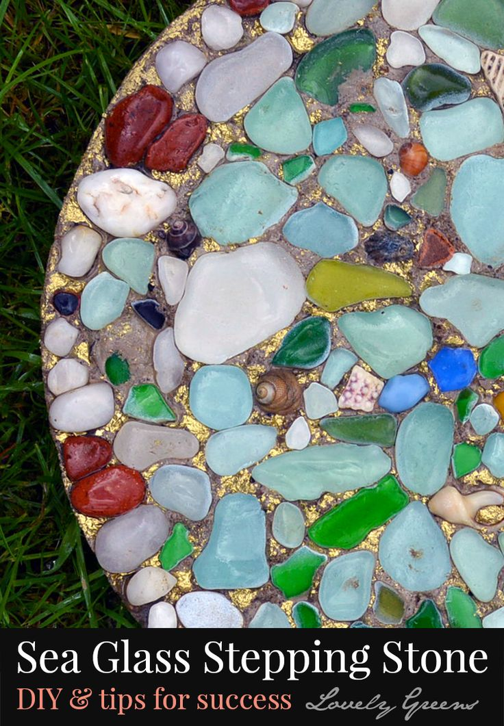 67 best seashell decorative crafts images on pinterest for Colored stones for crafts