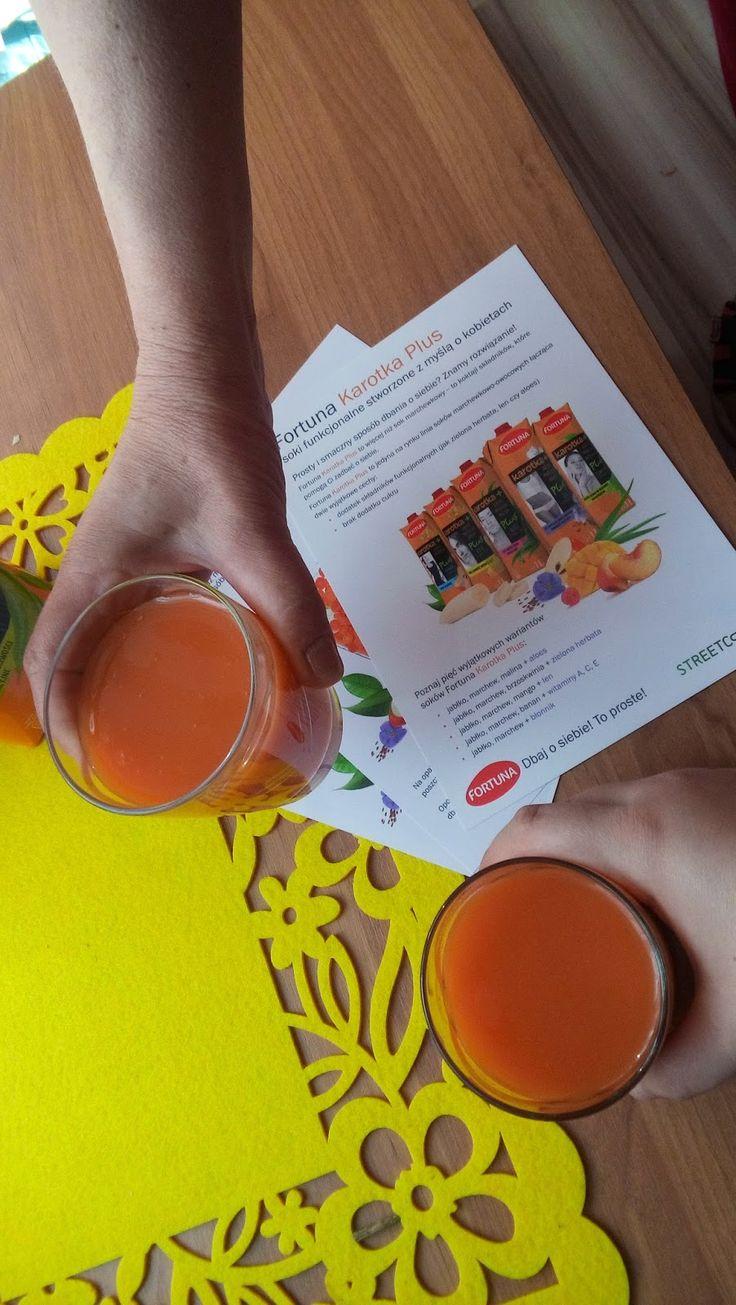 malwinaczyta: Dla odmiany dziś o sokach Karotka Plus, na zdrowie! #sokfortuna #KarotkaPlus