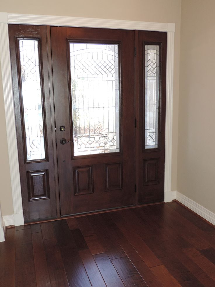 Entry Door With Sidelights Kingwood Remodeling MHR Modern Home Renovation In Texas 77339