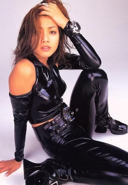 Uchida Yuki's promo shots for Cat's Eye (1997)