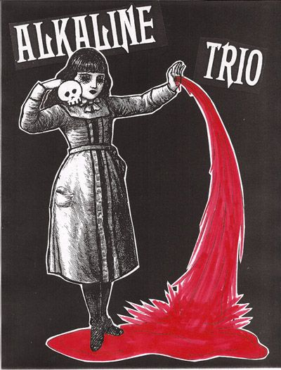 Alkaline Trio has the best artwork
