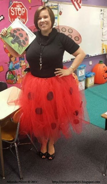 15 book character Halloween costumes for teachers: A Grouchy Ladybug Halloween Costume