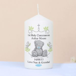 Personalised Me To You 1st Holy Communion Candle
