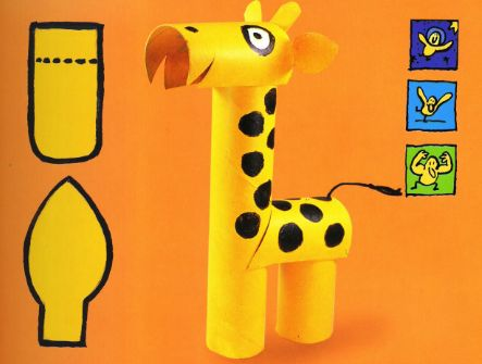 pinterest animales tubos de papel higienico - Buscar con Google