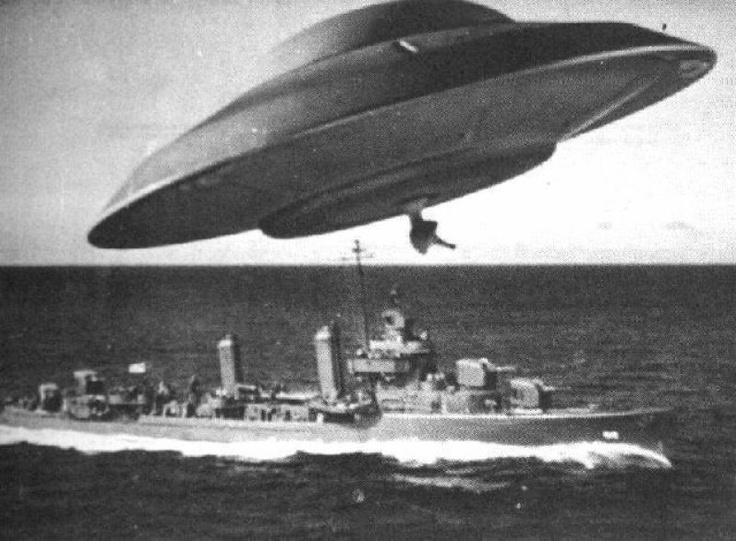 Earth vs. the Flying Saucers, 1956.
