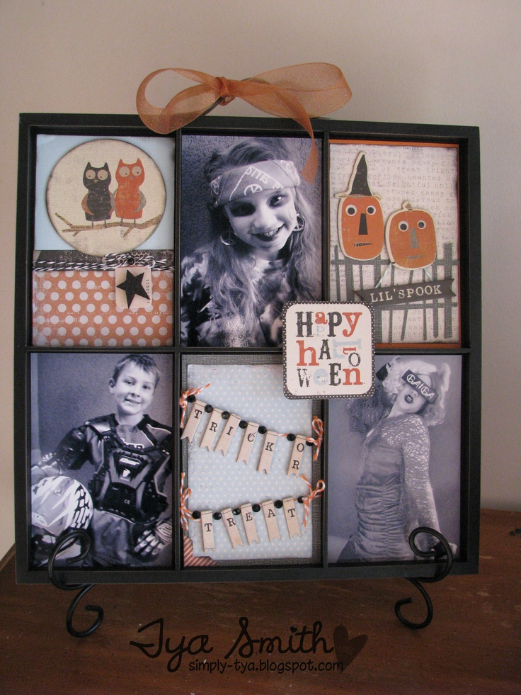 Halloween Photo Tray MME - Scrapbook.com