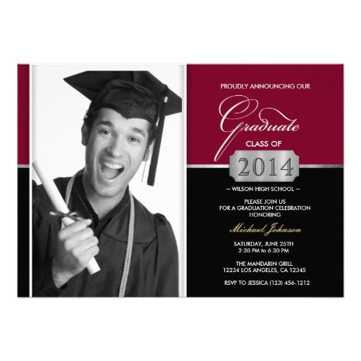 8 best Graduation Announcements images on Pinterest Graduation
