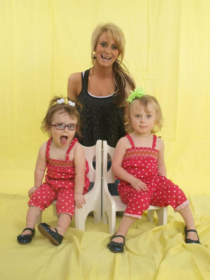 leah messer- the girls are getting so big :-)
