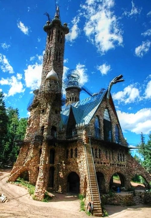 Bishop Castle Wet Mountains Rye CO  Built 19692010 by