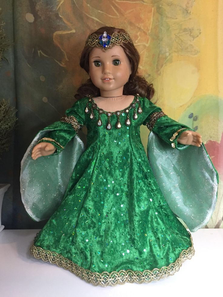 A personal favorite from my Etsy shop https://www.etsy.com/listing/268694458/american-girl-custom-ooak-celtic