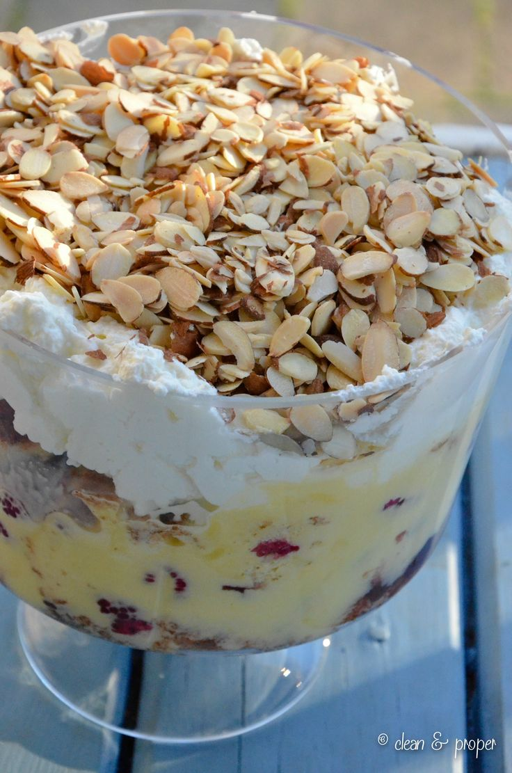 how to make traditional trifle