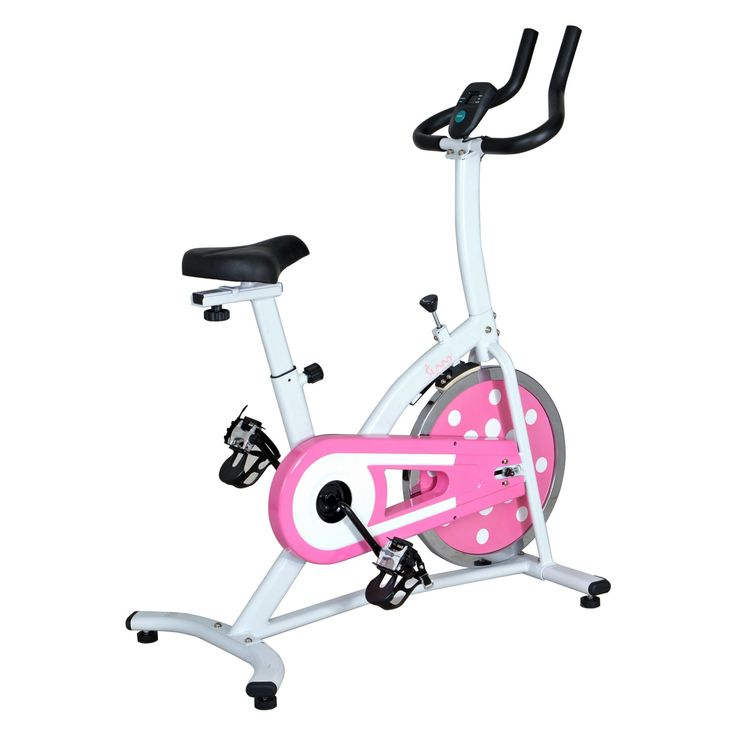 Sunny Health & Fitness Pink Indoor Cycle Trainer - P8100